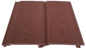 Texture extérieure durable PEHD en bois bois WPC Composite de panneaux muraux en plastique