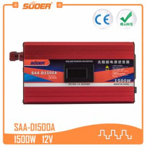 Suoer 1500W 12V 220V AC DC INVERTER (SAA-D1500A)