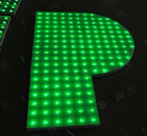 Spezieller Sektor-eindeutiges Form-Hochzeits-Stadium, das RGB LED Dance Floor leuchtet
