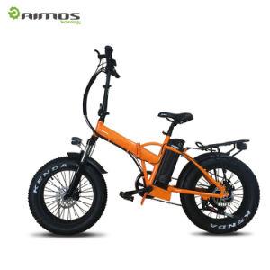 bici Pocket eléctrica 48V 500W del neumático gordo plegable 20inch