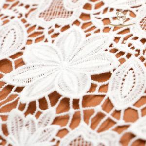 Ruban de bricolage à la main pour jupe perlée robe dentelle