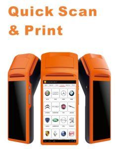 Leoscan Gts600車の診察道具自動スキャンナー及びプリンター修理ツールの維持コード読取装置