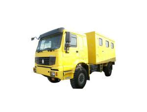 HOWO Atelier mobile personnalisé Offroad 4X4 AWD
