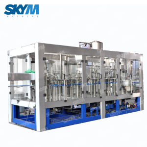 Alta velocidade de garrafas de bebidas carbonatadas automática máquina de enchimento