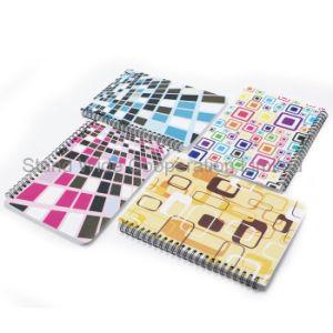 Espiral personalizado Escola impresso colorido Notebook Planejador de PP