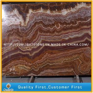 Rubino/Brown/Onyx di pietra naturale rosso per priorità bassa
