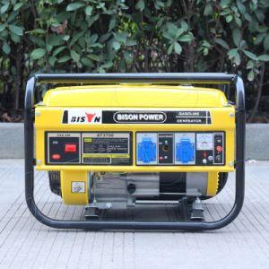 バイソン(中国) BS3000eの空気は4回の打撃カム専門の電気開始ガソリン発電機2.5kwを冷却した
