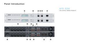 Afs-5200 직업적인 디지털 의견 파괴자