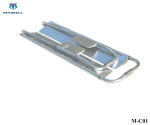 M-C01 dobra de alta qualidade Scooping-eis maca dobrável de alumínio