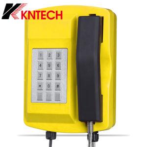 De openlucht Telefoon van de Telefoon van de Noodsituatie Taaie Waterdichte Industriële Aan de muur bevestigde Telefoon knsp-18