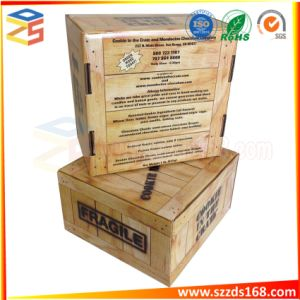 包むカスタムロゴプリント本の形の板紙箱販売のためのFoldableペーパー布ボックス