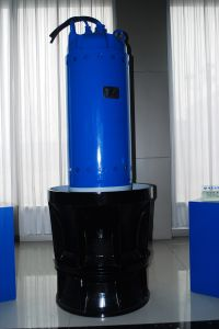 Submerso/Bomba Mixed-Flow Axial