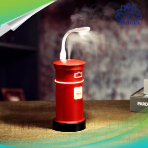 Humidificador de buzón de 200ml 40ml/H con luz LED