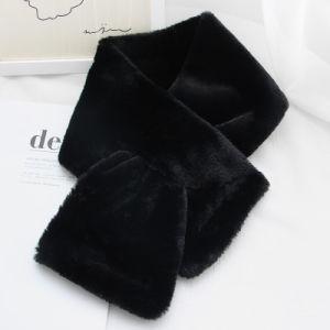 2018の女性の冬の暖かい編まれたスカーフの女性の首のウォーマー