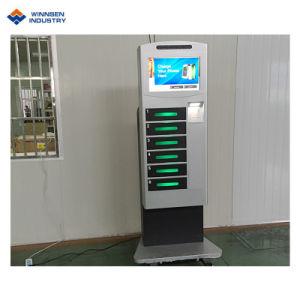 Einkaufszentrum-Telefon-Ladestation mit LCD-Bildschirm