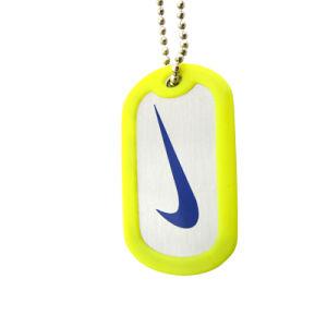昇進のギフトの3Dロゴのカスタム銅のドッグタッグ(001)