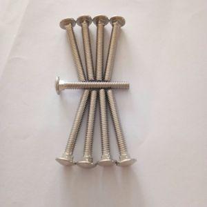 Углеродистая сталь марки 4.8/8.8/10.9/12,9 1/4~крепежный болт с квадратным подголовком 5/8