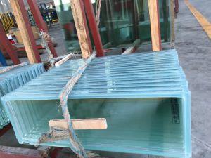 Utilização interior composto com isolamento térmico de vidro à prova de fogo
