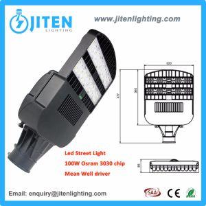 2018 Novo Design de luz exterior de alumínio 100W Lâmpada de Rua LED