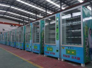 Npt de bebidas de grande capacidade & Bebidas & Snack máquina de venda automática com sistema de gestão