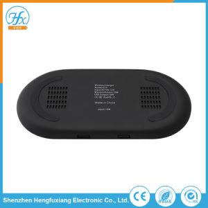 Kundenspezifischer RoHS Handy Doppel-USB-Radioapparat-bewegliche allgemeinhinaufladeeinheit