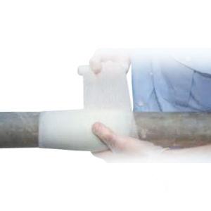 Envoltura de tubo de fibra de vidrio blindado Kit de reparación de fugas de vendaje para tubo de ráfaga