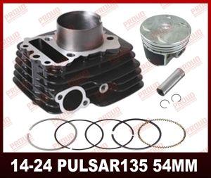 Bajaj 4 piezas de repuesto de válvula de modelo de motocicleta Pulsar135 Kit de cilindro
