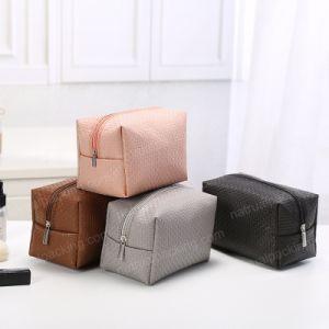 Fermeture à glissière imprimé personnalisé Sac de maquillage cosmétiques