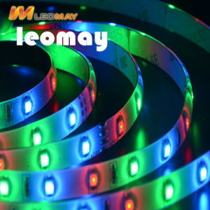 36W 150/Roll de LED SMD5050 LM80 3000K Cinta LED