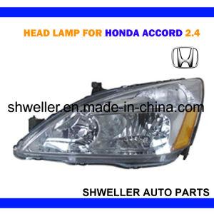 Lâmpada de cabeça automática para o Honda Accord 2003 Farol do Carro