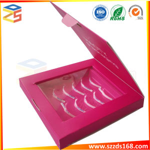 Красный складная косметический продукт подарочный набор упаковочных коробок