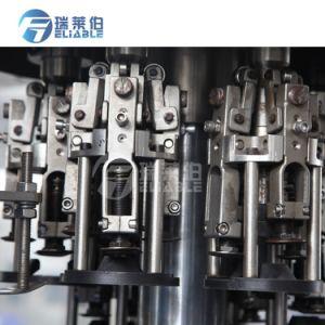Botella de vidrio automática fabricante de máquinas de llenado de líquido del vino