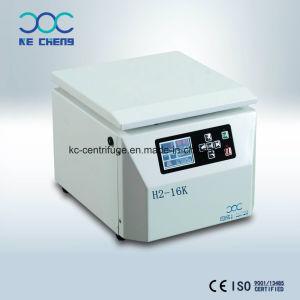 Centrifuga di piccola dimensione ad alta velocità del laboratorio del microprocessore 220V di piano d'appoggio di H2-16K con il tubo 50ml