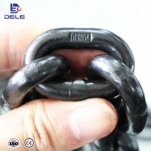 En acier allié étalonné G80 Lien ronde de la chaîne de levage