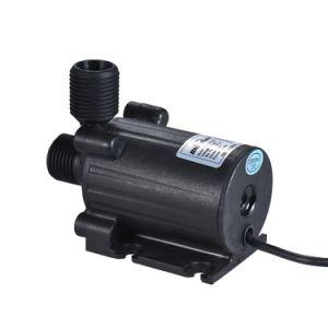 Fluxo de 24V DC 1000L/H submersíveis bomba anfíbia de isolamento hidrelétrica para economia de energia para o viveiro de peixes