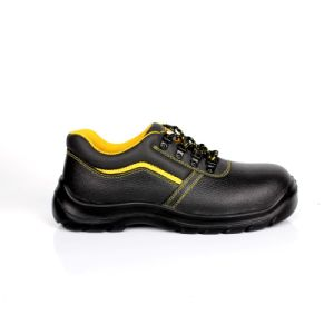 New PU Sole (SN5758)との産業Leather Safety Shoes