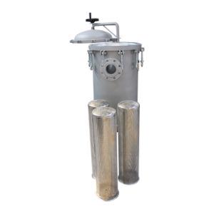 El filtro de agua alto volumen y filtro de mangas de flujo alto