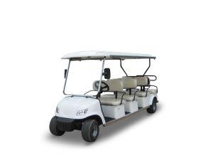 Operado a bateria 8 SEAT carros de golfe com marcação CE