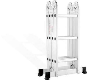 El Aluminio escalera plegable multiusos