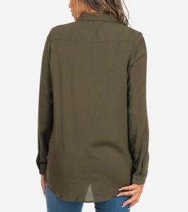 方法長い袖2の前部ポケットライト級選手のワイシャツ