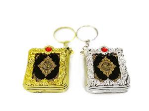 Zeer belangrijke Ketting Mini Heilige Bijbel Gevormde Keychains in het groot-Arabisch