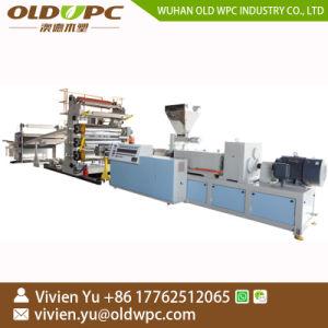 1-4mm de PVC Lamination UV en plastique rigide de marbre de feuille de décisions de la machinerie
