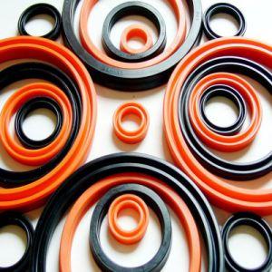 Delen van de Auto van de Verbinding van de Olie van SR FKM van hoge Prestaties NBR Wearable Rubber Verzegelende