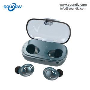 防水小型スポーツのTws本当の無線Bluetoothのステレオのヘッドホーンのイヤホーン