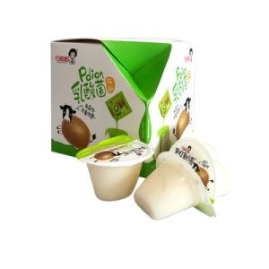 Mini Flan chino de la Taza de gelatina de sabor de fruta merienda de calidad