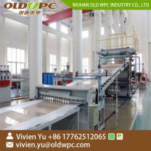 PVC人工的な大理石のプロフィールおよびシートの生産ライン/作成機械