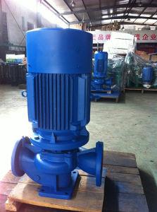 Тип Isgb - взрывозащищенное нефтепровода подкачивающий насос Вертикальный трубопровод насоса подачи горячей воды горячей воды подкачивающим насосом