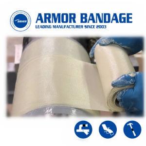 زاهية درع لفاف شريط أنابيب نقطة معيّنة لفاف لأنّ إصلاح سريعة أنابيب صناعيّ في مخزون