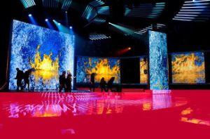 P10.4mm pleine couleur Mur d'affichage à LED de périmètre, Intérieur Location d'affichage à LED