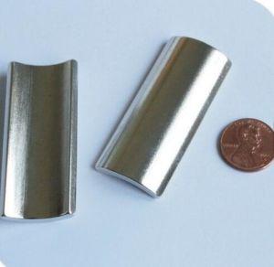 Жесткий керамические металлокерамические ферритовый сегмента плиткой Arc магниты